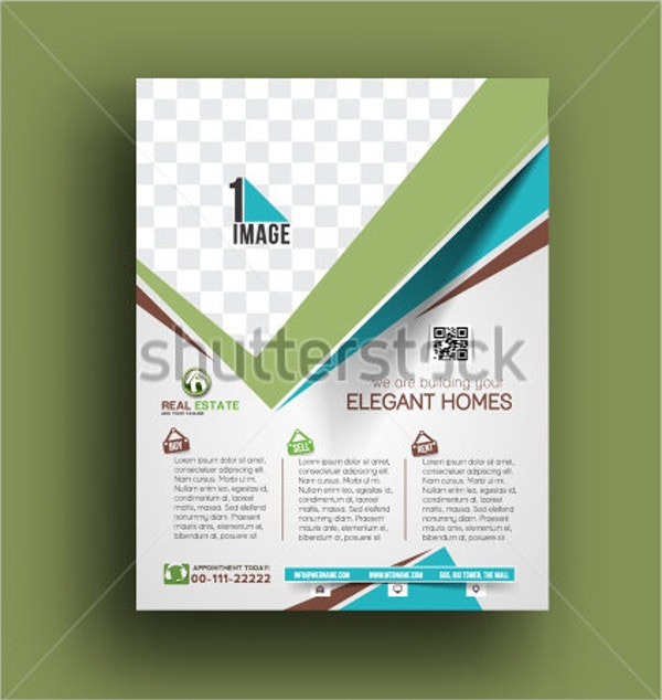 agent real estate flyer template
