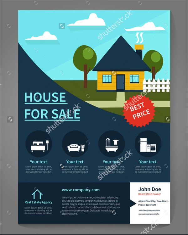 broker real estate flyer