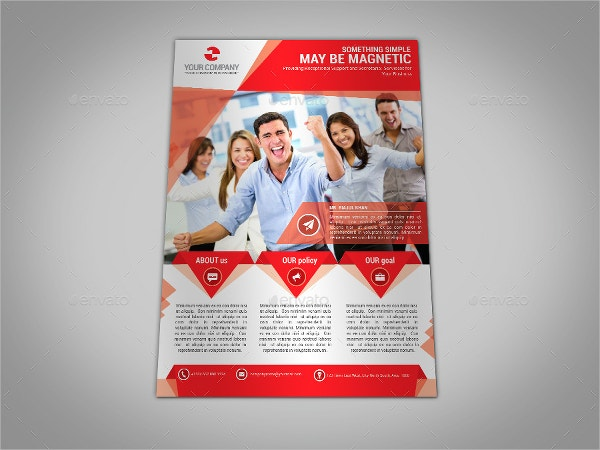 18 business flyer templates free psd ai eps format download multipurpose business flyer accmission Gallery