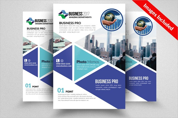 Pro Business Dealing Flyer Template