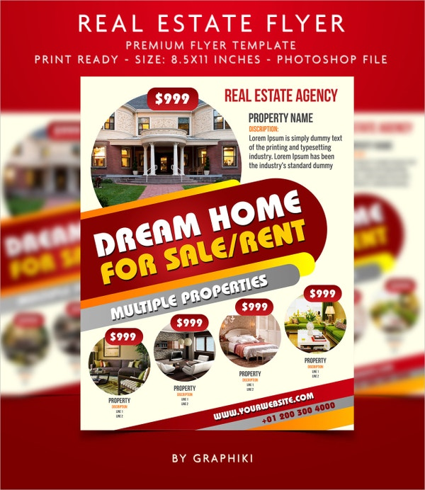 Real Estate Business Flyer Templates