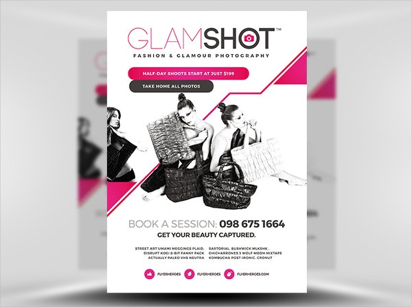 Photographer's Business Flyer Template