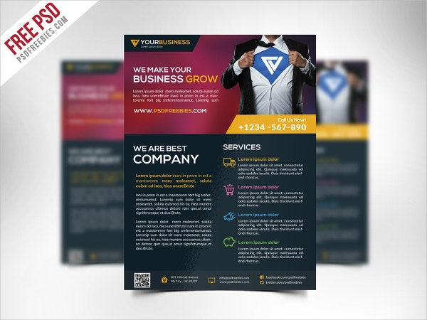 free corporate business flyer