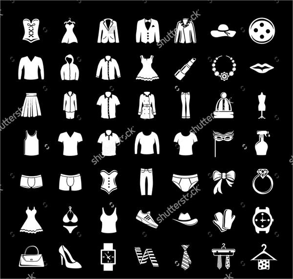 Fashion Clothing Icons