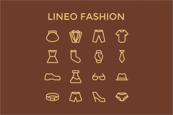 Pictogram Fashion Icons
