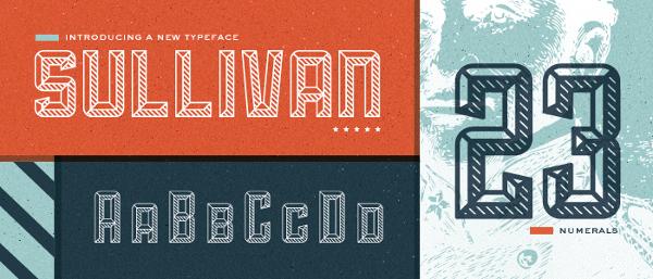 Sullivan T-Shirt Font