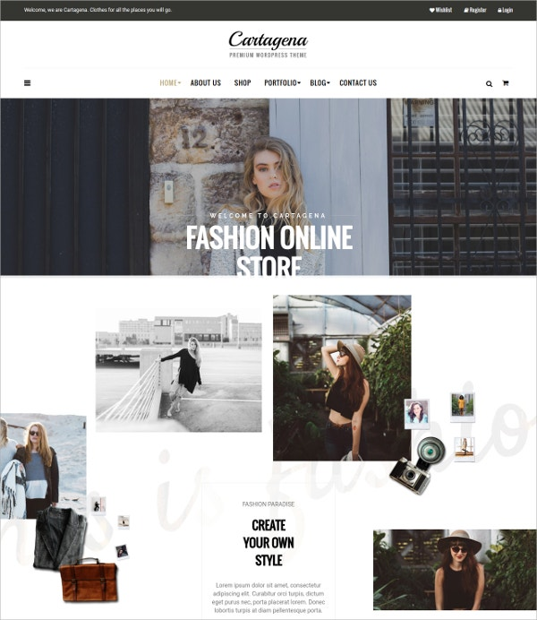 Urban Fashion WordPress Woocommerce Theme $59