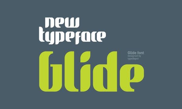 Glide T-Sirt Free Font