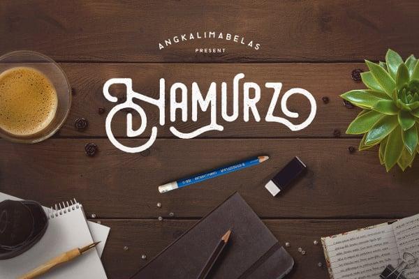 Hamurz T-Shirt Font