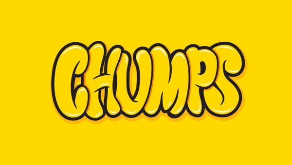 Lettering Chumps Font