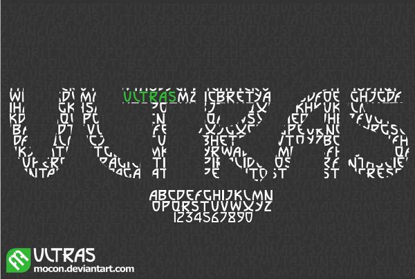 Ultras Free Font