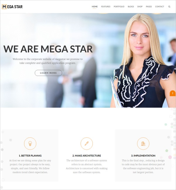 Business Design Agency Joomla Template $48