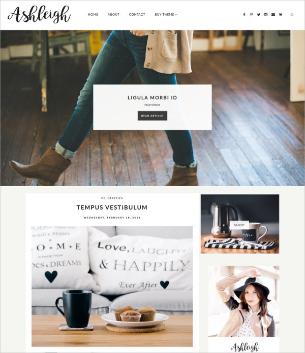 Minimal Responsive Blogger Template $15