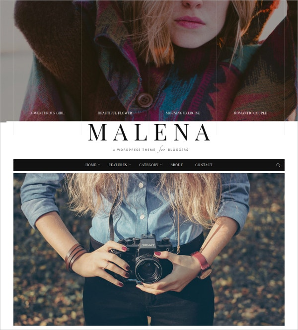Fashionable Blog WordPress Theme $49
