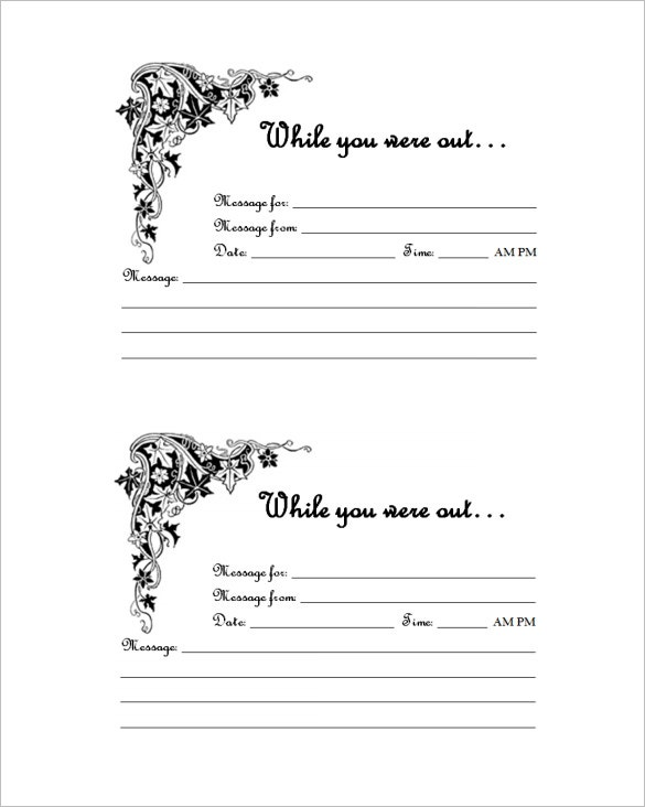 Message Templates  Free Sample Example Format  Free