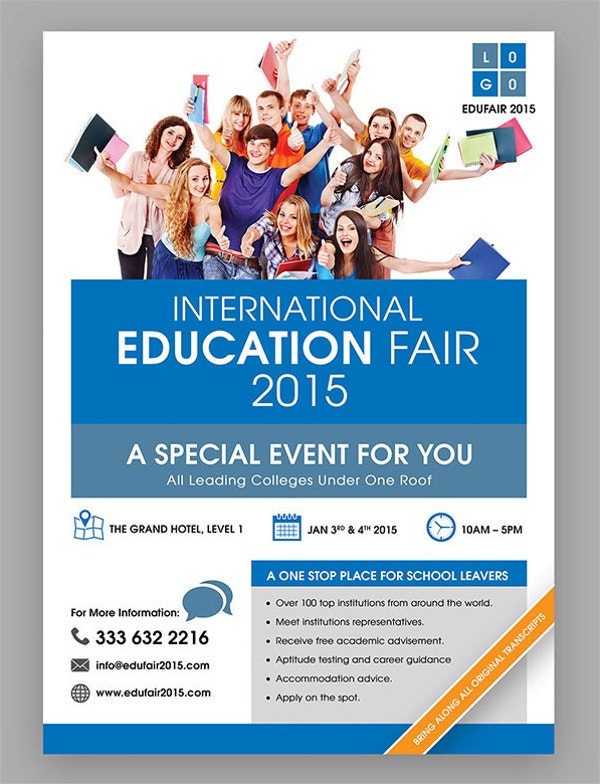 Education Fair Event Flyer