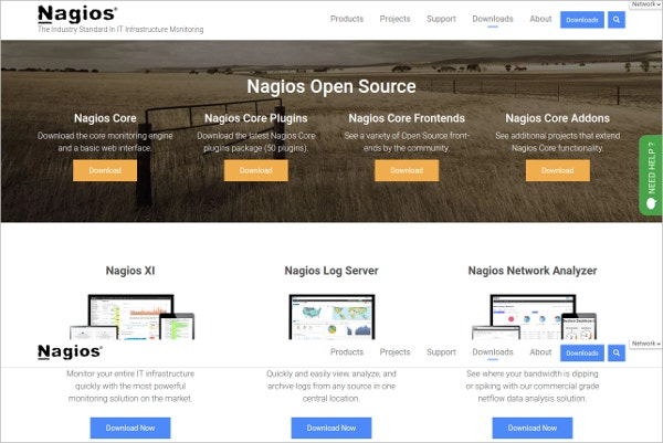 Nagios IT Infrastructure Monitoring