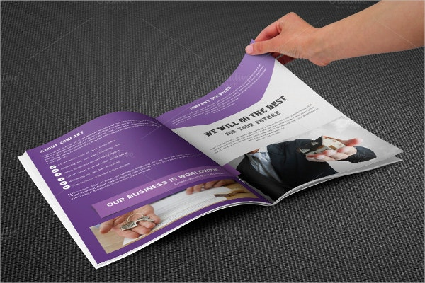 Bi Fold Real Estate Brochure