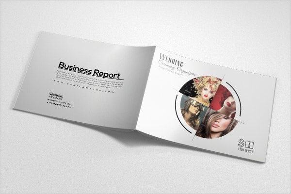 Bi Fold Fashion Brochure