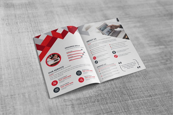 21 bi fold brochure templates free psd ai eps format download