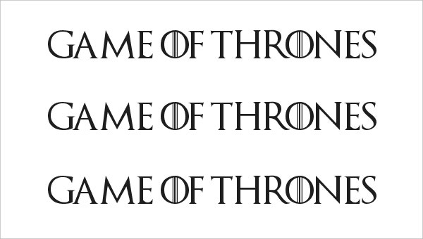7 Amazing Games Of Thrones Fonts | Free & Premium Templates