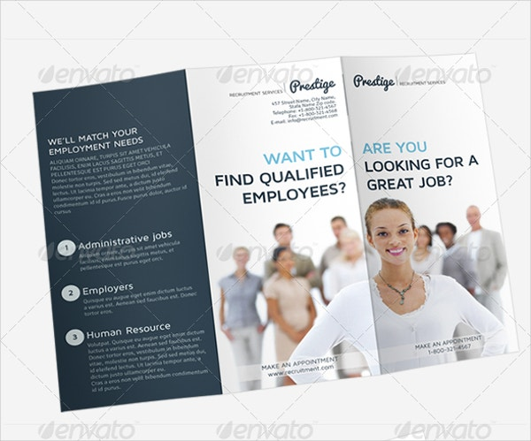 18 recruitment brochures free psd ai eps format download free