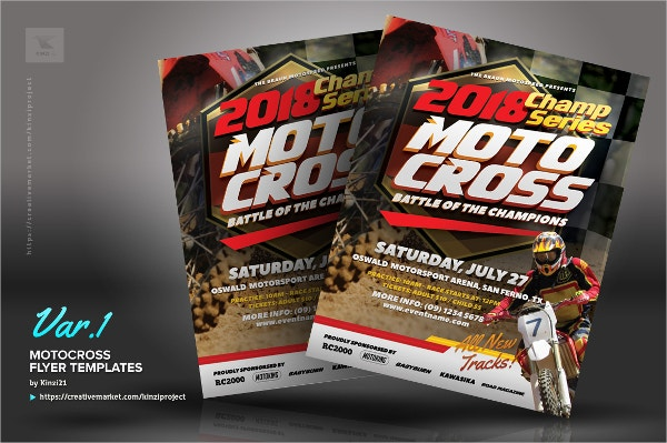 19 + Racing Flyers - PSD, AI, InDesign, Word, EPS Vector ...
