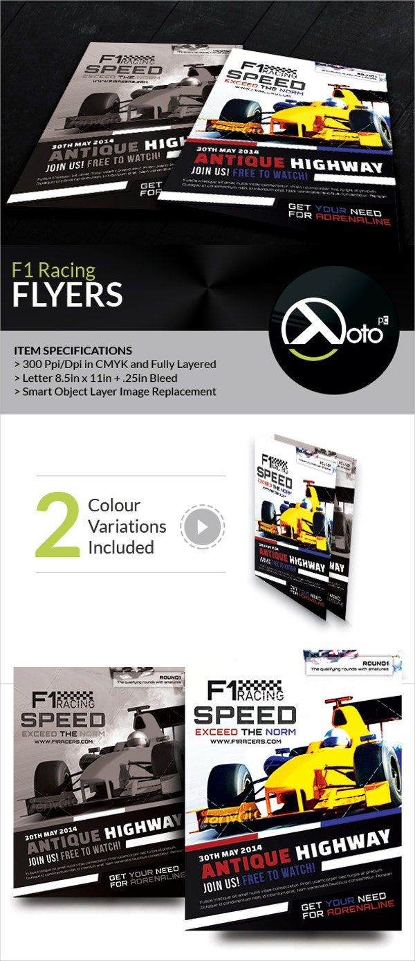 F1 Super Racing Flyers