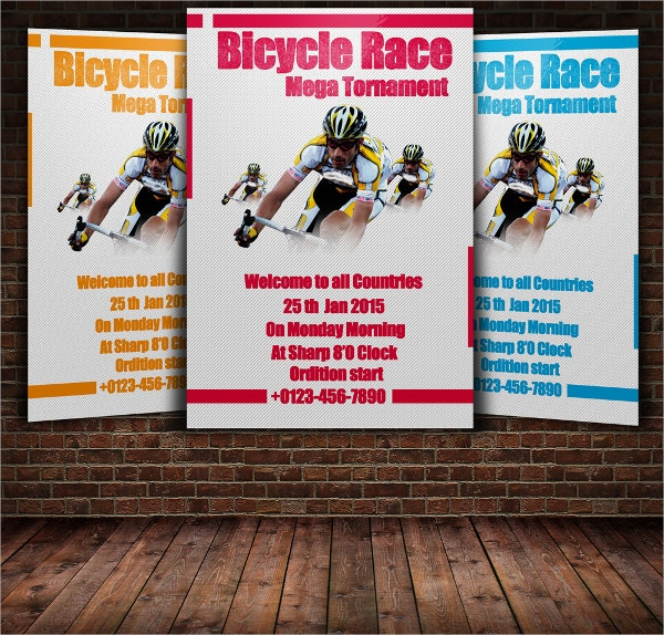 Bicycle Racing Flyer