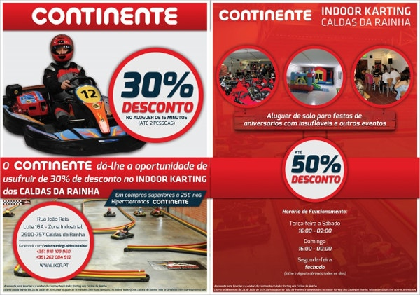 Karting Racing Flyer