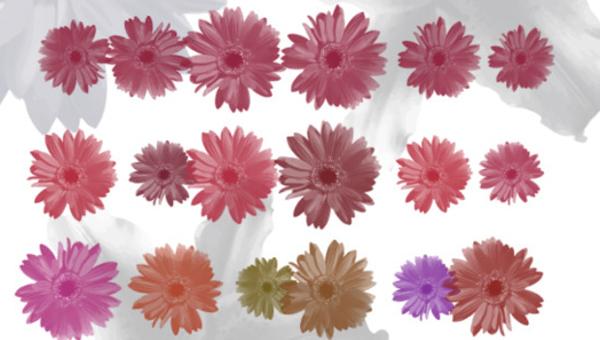 flowerbrushes