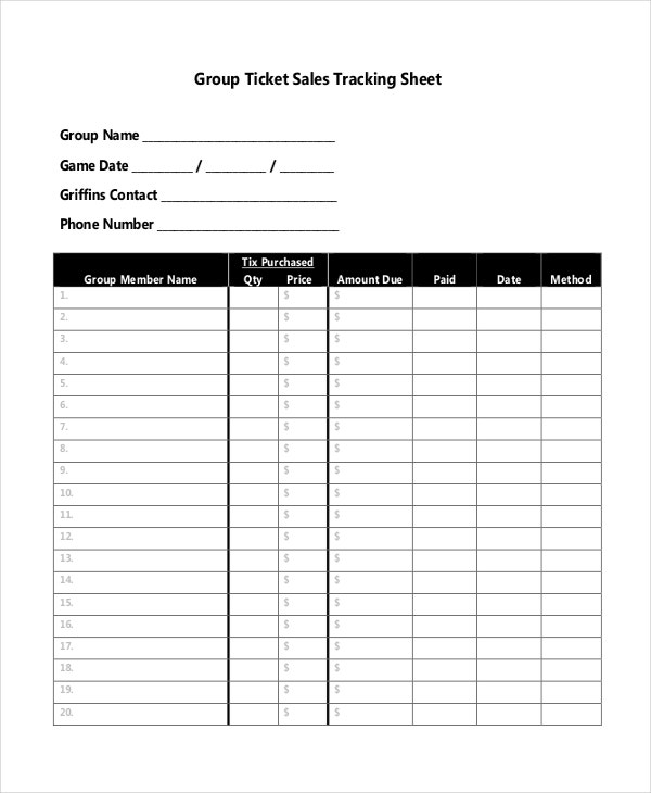 Tracking Sheet Template Vatansun Business Expense Report And
