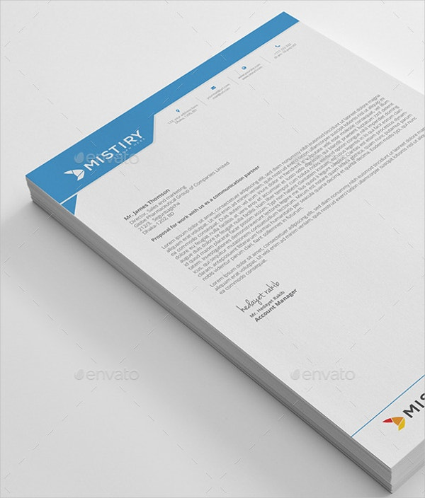 13 letterhead templates free sample example format free psd letterhead template thecheapjerseys Choice Image