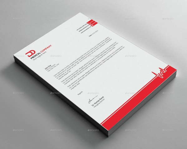 doctor medical letterhead template