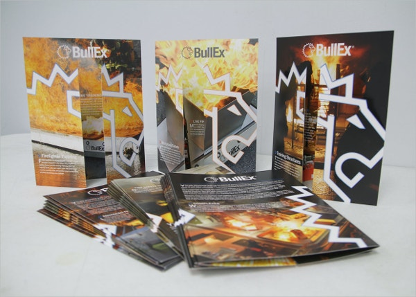 fire safety gatefold brochures