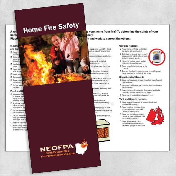 Home Fire Safety Brochure