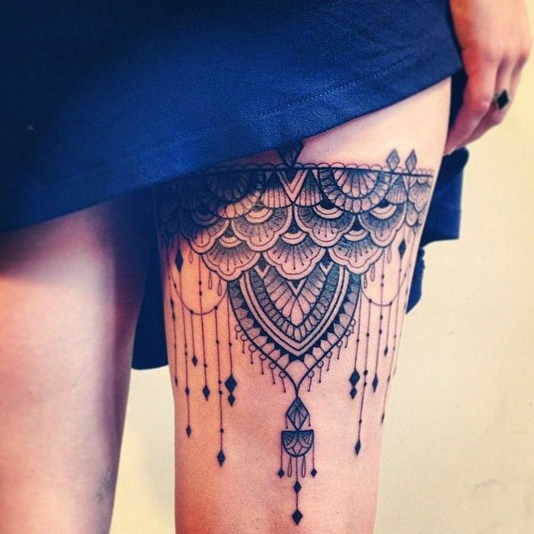 best Tattoo Design Whole Leg Sleeve