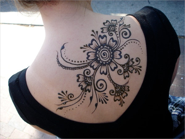 Henna Tattoo Flawless Floral Tattoo Design