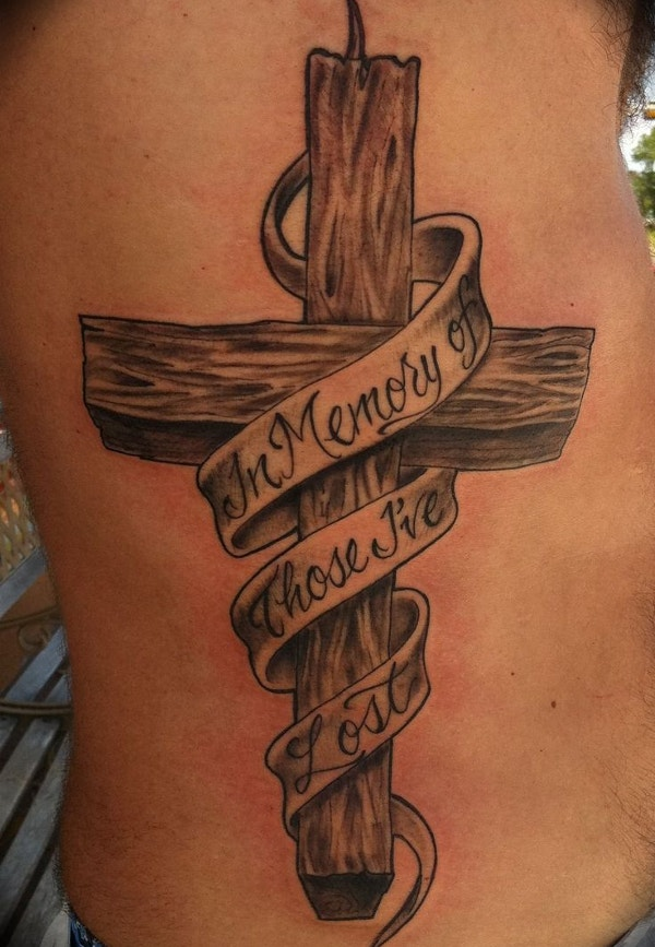 in Memory of Jesus Tattoo Design