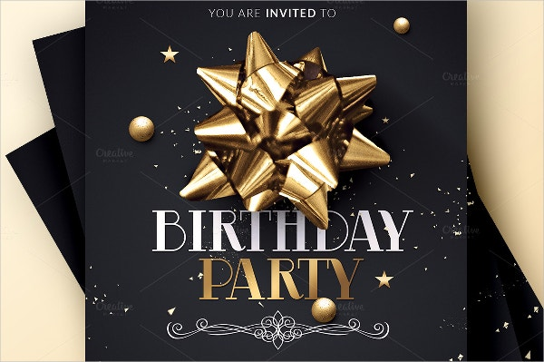birthday event template