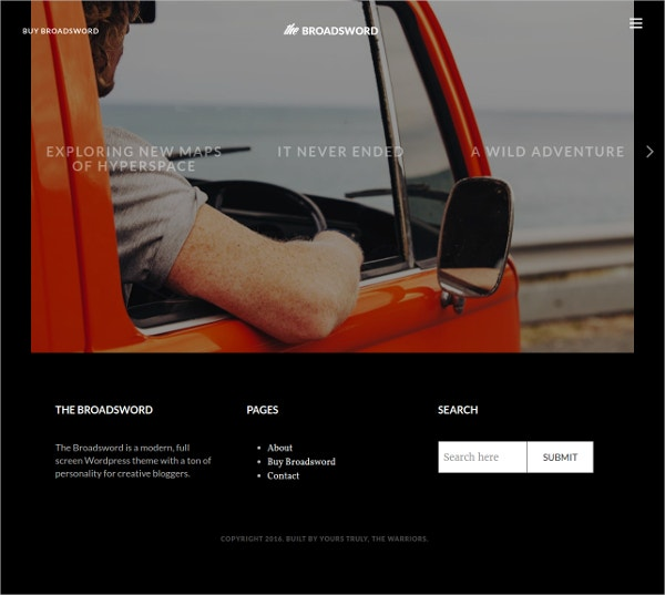 Journal Photography Website WordPress Blog Theme $49