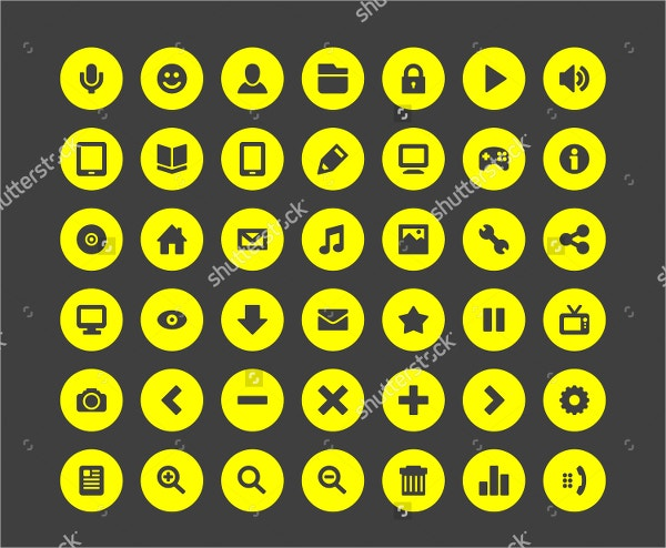 infographics web icons