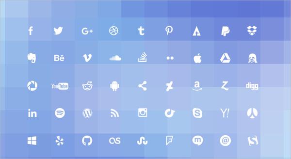 Social Web Icons