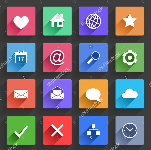 application web icons