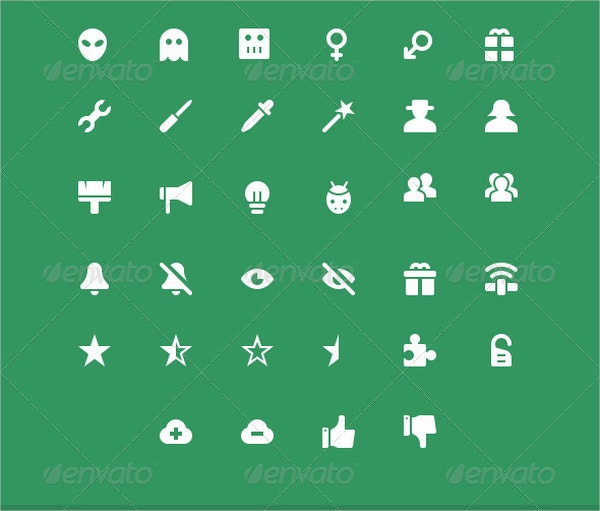 Simple Web Icons Set