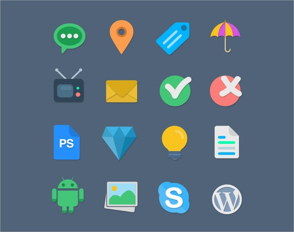 Handcrafted Web Icons