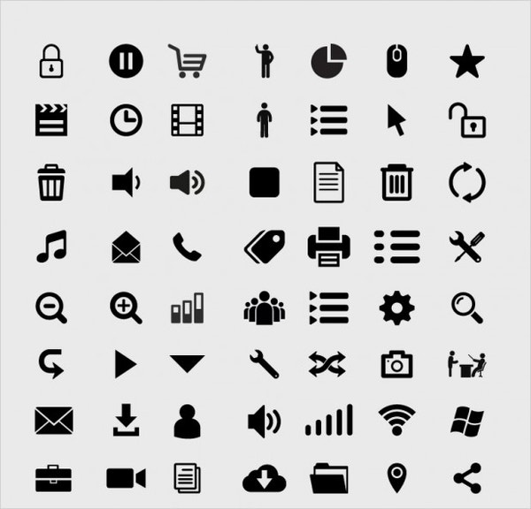 Internet Web Icons