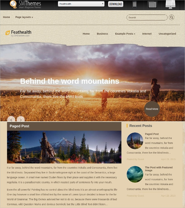 free beautiful travel wordpress website theme