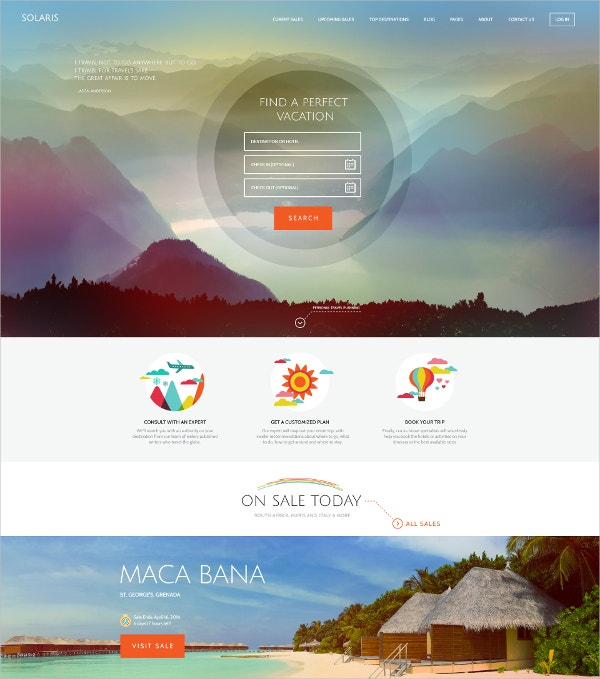travel holiday agency wordpress theme 59
