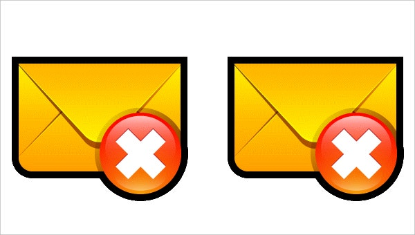 Email Delete Icon Free Download